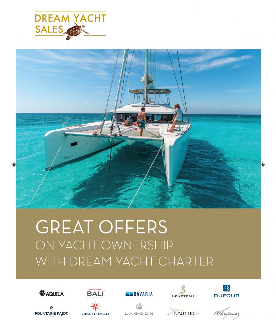 Market leading ownership offers from our partners, Dream Yacht Sales